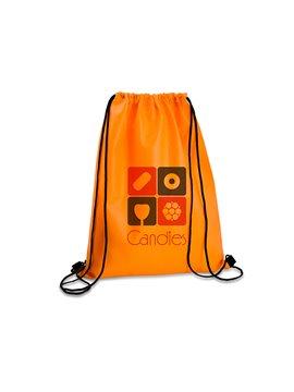 Logan Bag Bolsa Tula Mochila con cordon para ajustar - Naranja