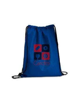 Logan Bag Bolsa Tula Mochila con cordon para ajustar - Azul Rey