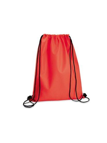 Logan Bag Bolsa Tula Mochila con cordon para ajustar - Rojo