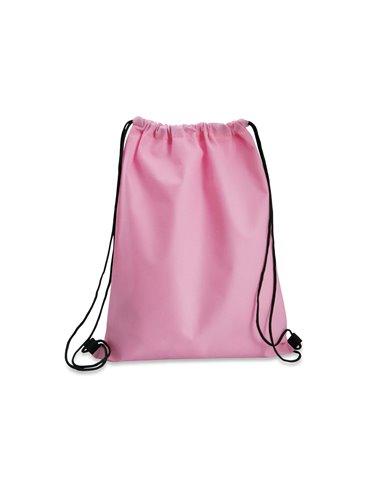 Logan Bag Bolsa Tula Mochila con cordon para ajustar - Rosado
