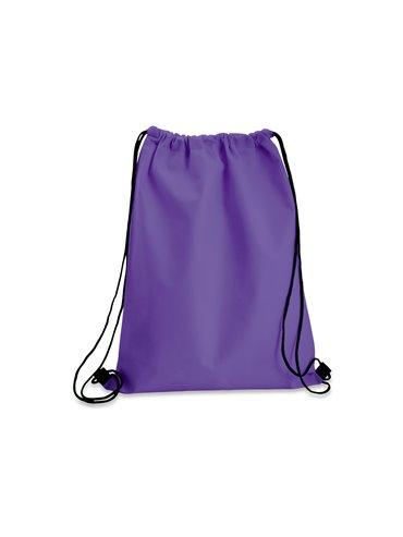 Logan Bag Bolsa Tula Mochila con cordon para ajustar - Morado