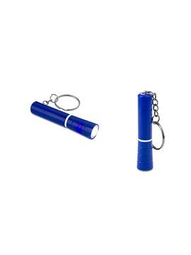 Esfero Boligrafo en Aluminio con Clip Plastico y Holder - Rojo