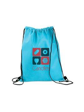 Logan Bag Bolsa Tula Mochila con cordon para ajustar - Azul Cielo
