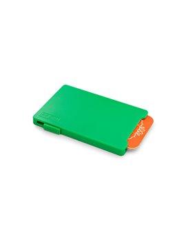 Masajeador Translucido Elaborado en Plastico - Verde