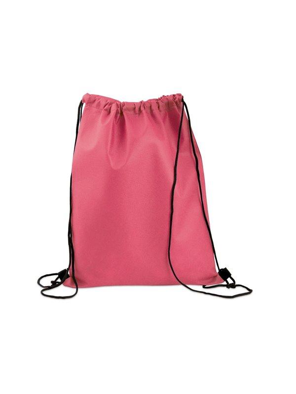 Logan Bag Bolsa Tula Mochila con cordon para ajustar - Fucsia