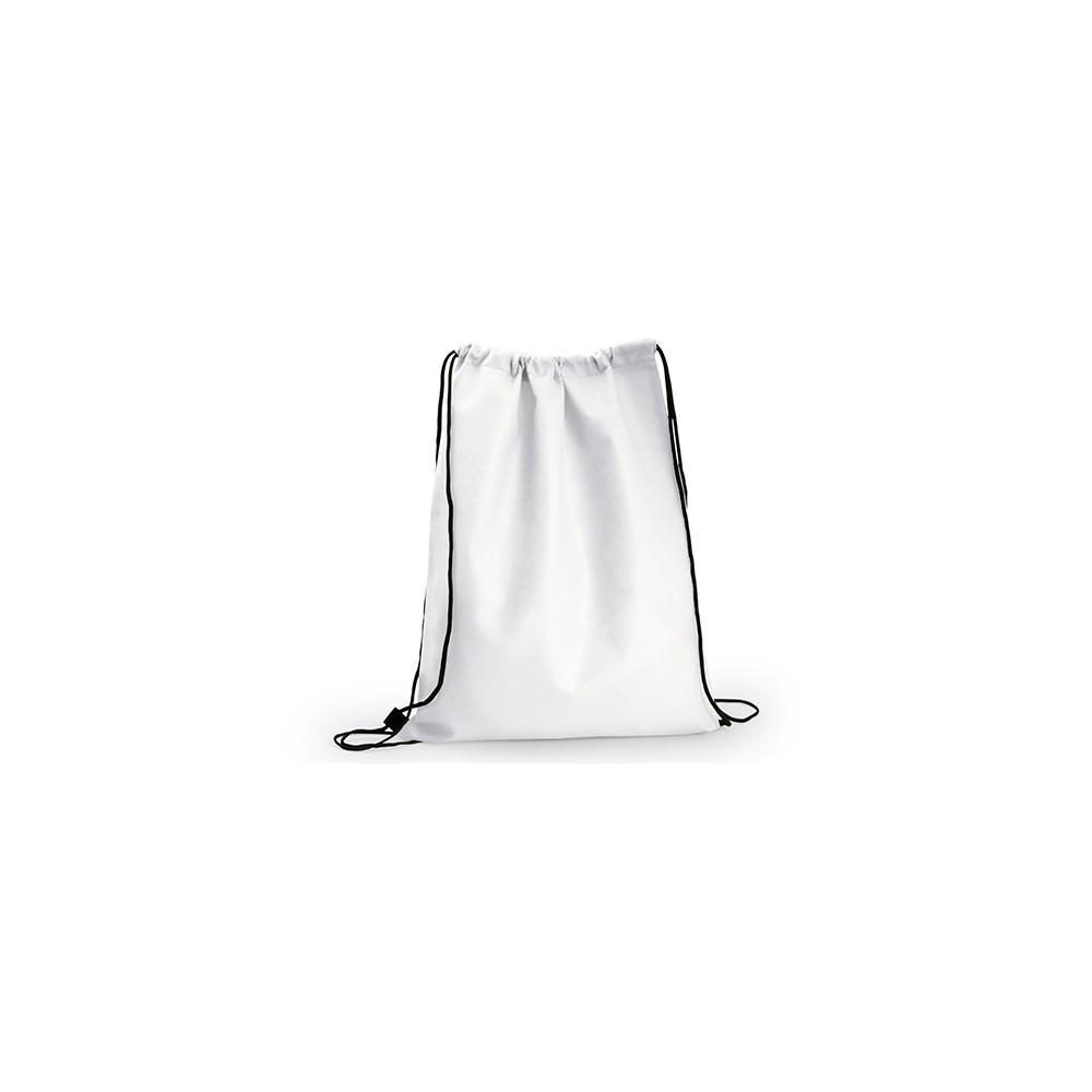 Logan Bag Bolsa Tula Mochila con cordon para ajustar - Blanco