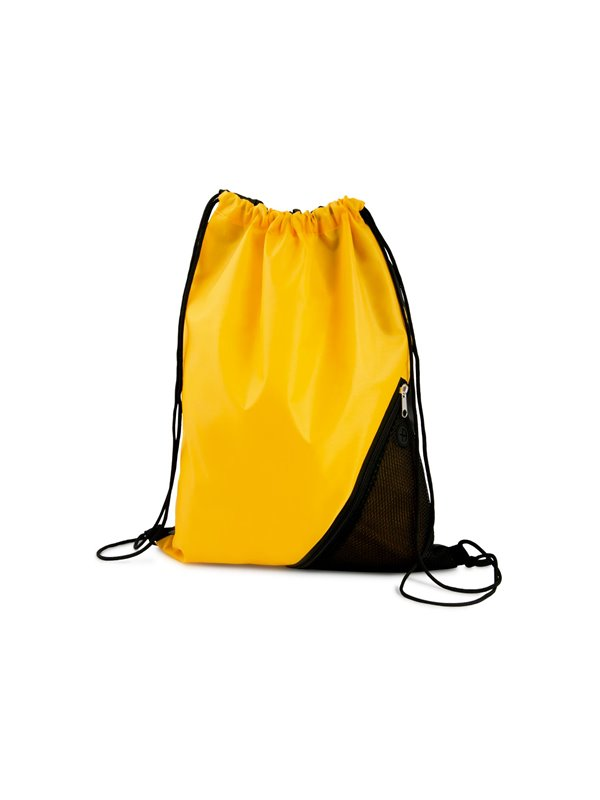 Mochila Corner Bolsa Tula Mochila con cordon para ajustar - Amarillo