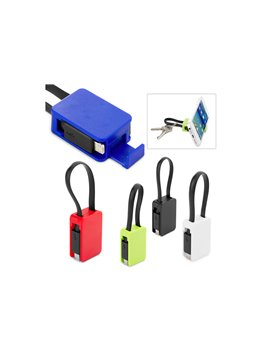 Porta Carnet en Plastico Uso Vertical - Azul