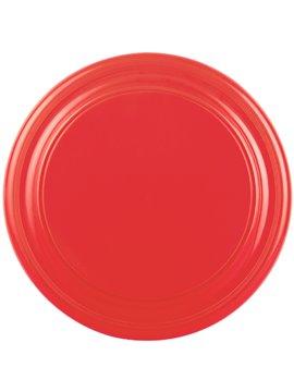 Disco Volador Frisbee Contour en Plastico - Rojo