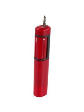 Desarmador Inser en Plastico Incluye Sistema Giratorio - Rojo