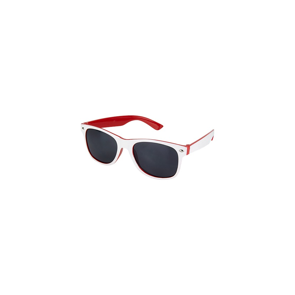 Gafas Lentes Treviso Bicolor en Plastico y Proteccion Uv 400 - Rojo