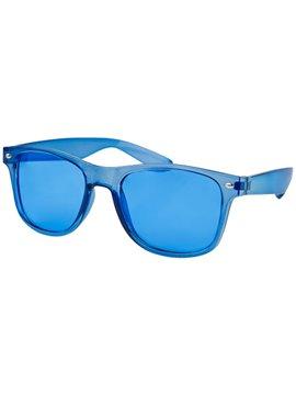 Gafas Lentes Maroni en Plastico y Proteccion Uv 400 - Azul Translucido