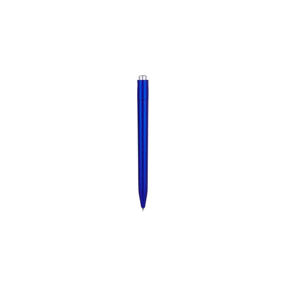 Esfero Boligrafo Iller en Plastico Mecanismo Pulsador - Azul Mate