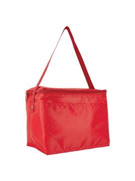 Hielera Kosta Poliester Interior Plastificado Impermeable - Rojo