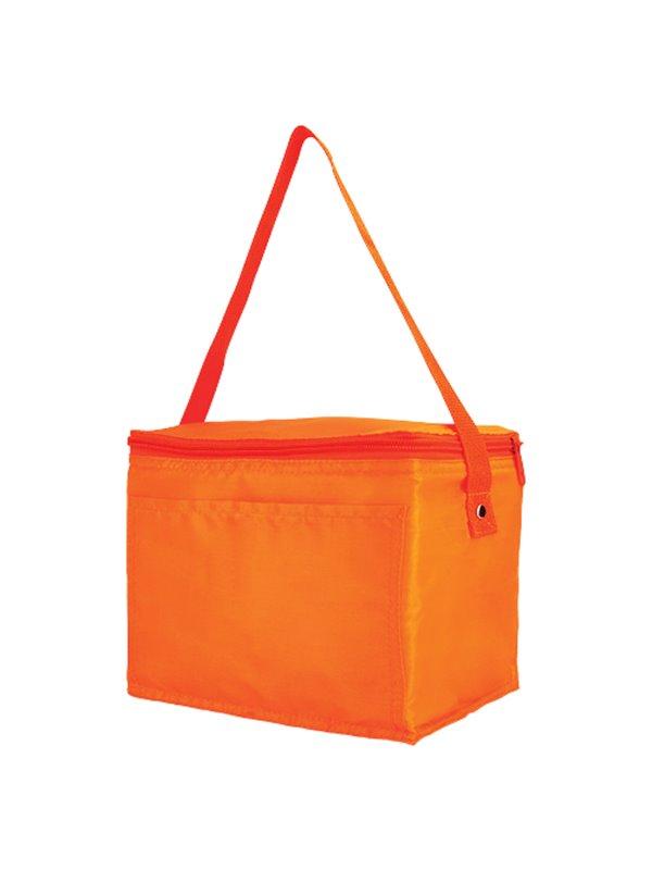 Hielera Kosta Poliester Interior Plastificado Impermeable - Naranja