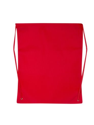 Bolsa Mochila Astorga Non Woven - Rojo