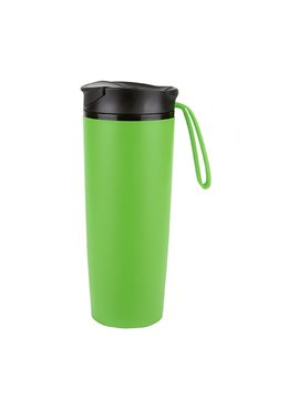 Botella Botilito Fun 16 Oz Pet tapa Push Pull - Verde