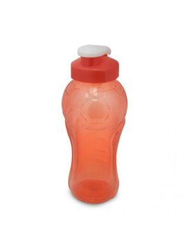 Llavero Pastillero Plastico Forma Tubo Tapa Rosca - Rojo