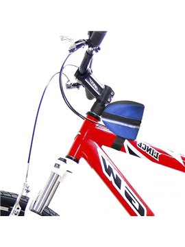 Canguro Para Bicicleta Round con Cremallera y Amarres - Azul