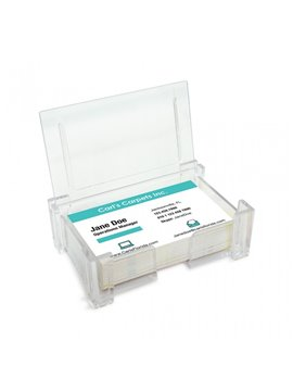 Portadocumentos Tarjetero Plastico Transparente - Transparente