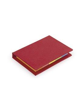 Sticky Notes Lite Banderitas Notas Adhesivas Tapa Dura - Rojo