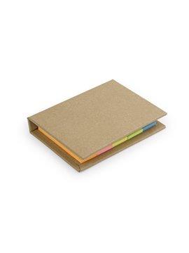 Sticky Notes Lite Banderitas Notas Adhesivas Tapa Dura - Natural