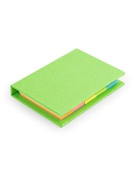 Sticky Notes Lite Banderitas Notas Adhesivas Tapa Dura - Verde