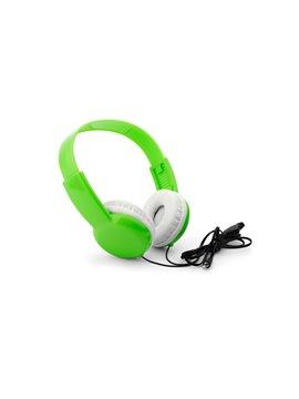 Auriculares Audifonos Security Kids con Limite de Volumen - Verde Limon