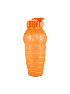 Botella Botilito Futbol American Pet 22 Onz Tapa Push Pull - Naranja