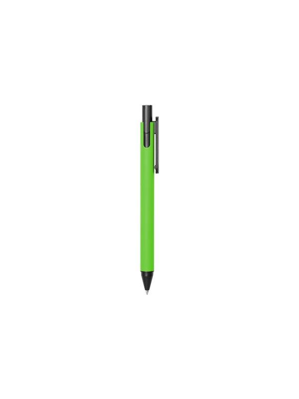 Esfero Boligrafo Lapicero Tilt en Plastico - Negro/Verde Manzana