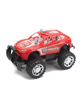 Carro Vehiculo de Juguete Plastico Monster - Rojo
