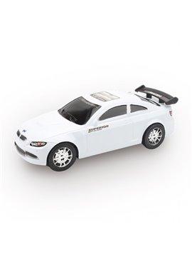 Carro Vehiculo de Juguete Plastico Spoiler - Blanco
