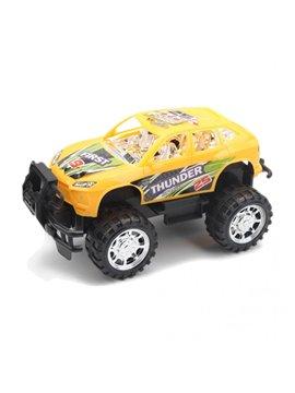 Carro Vehiculo de Juguete Plastico Thunder - Amarillo