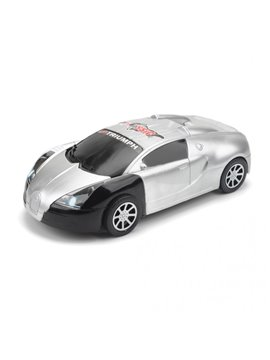 Carro Vehiculo de Juguete Plastico Spider - Gris/Negro
