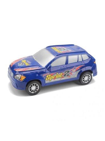 Carro Vehiculo de Juguete Plastico Sprint - Azul