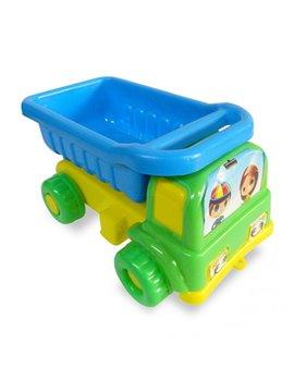 Camion Volqueta Playero en Plastico - Verde