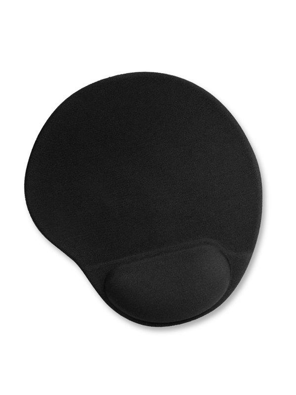 Mouse Pad en Espuma Apoya Muñecas Ergonomico - Negro