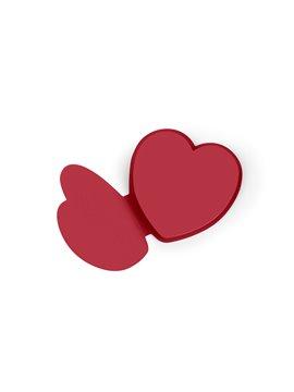 Memo Stick Notas Love con 50 Notas Adhesivas - Rojo