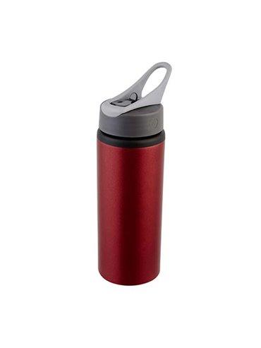 Botella Botilito Bannaya Aluminio Capacidad 700 Ml - Rojo