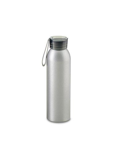 Botella Botilito Metalico Otto 600 ml - Tapa Negro