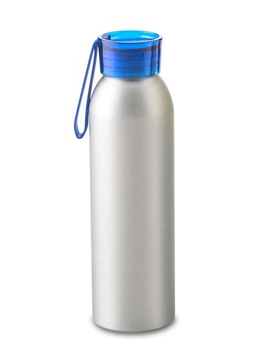 Botella Botilito Metalico Otto 600 ml - Tapa Azul
