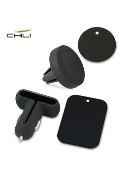 Memoria USB 2GB Mini Con Estuche - Plateado