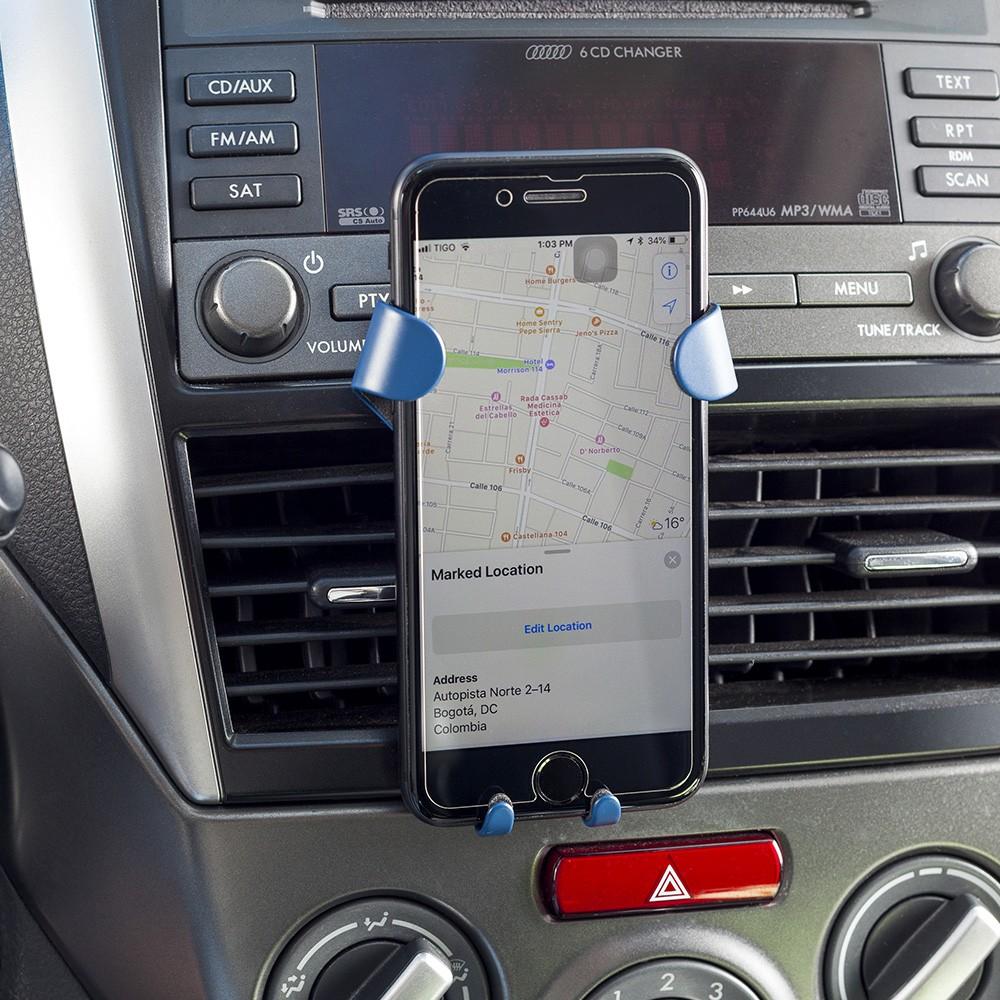 Set Con Llavero Meta Soporte Ajustable Para Moviles - Gris