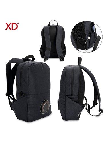 Morral Maleta Backpack Speaker Party Tecnologia IPX5 - Negro