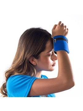 Libreta Band Jr. Con Textura Corrugada en Carton Laminado A6 - Azul