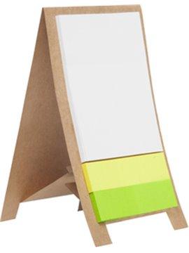 Set Practico De Escritorio Cartel En Carton Reciclado - Carton