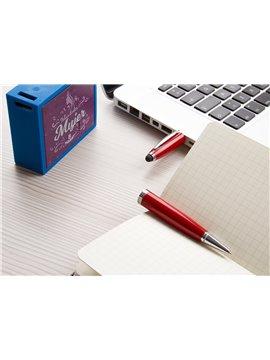Esfero Boligrafo USB 4 Gb Sistema Touch Twist - Rojo