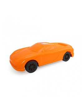 Carro Juguete Master elaborado en Plastico y decorable - Naranja