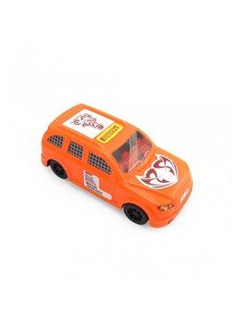 Carro Juguete Pioolli Decorable con Sticker - Naranja