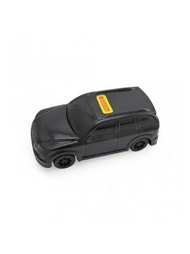 Carro Juguete Pioolli Decorable con Sticker - Negro